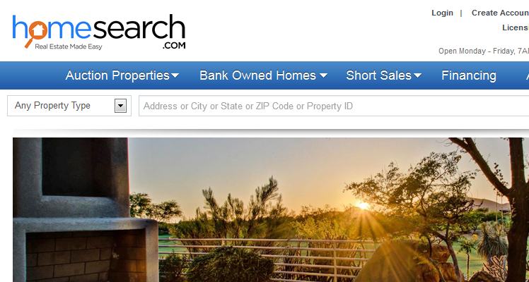 HomeSearch Allows Shill Bidding Up to Reserve Price on Real Estate Auctions
