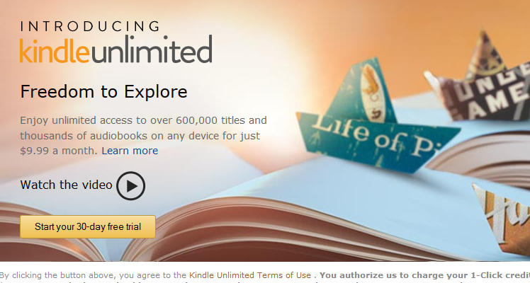 "Kindle Unlimited, the ""Netflix for Books"" Model, and What Authors and Publishers Can Do to Stop It"